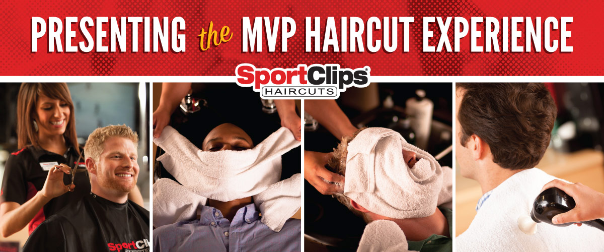 The Sport Clips Haircuts of Bartlett MVP Haircut Experience
